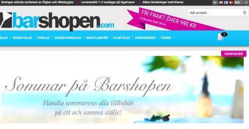 Screenshot Barshopen