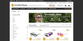 Screenshot SmartBuyGlasses
