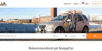 Screenshot SnappCar
