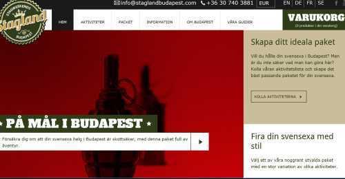 Screenshot Stagland Budapest