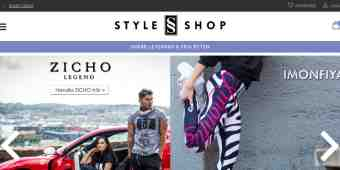 Screenshot Styleshop