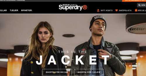 Screenshot Superdry