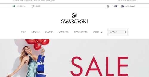 Screenshot Swarovski