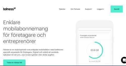 Screenshot Telness
