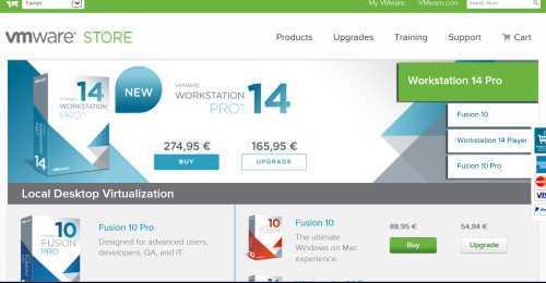 Screenshot VMware