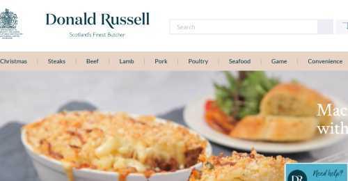 Screenshot Donald Russell