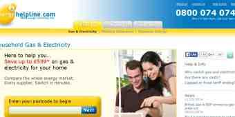 Screenshot Energyhelpline