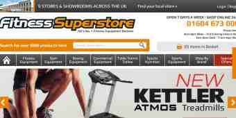 Screenshot Fitness Superstore