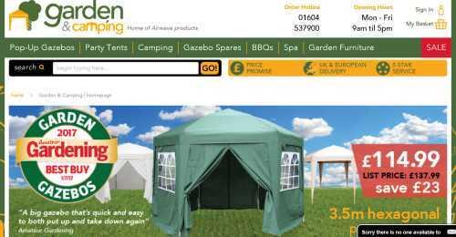 Screenshot Garden & Camping