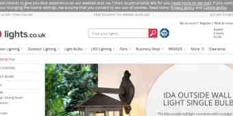 Screenshot Lights.co.uk