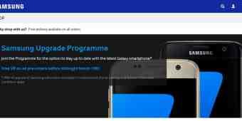 Screenshot Samsung Store