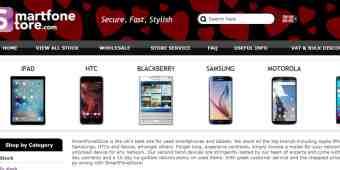 Screenshot SmartFoneStore